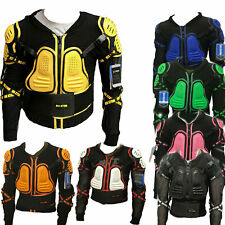 Kids BMX Mountain Bike Off Road Body Armour CE Body Chest Spine Full Jacket