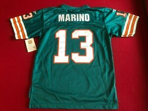 """Dan Marino,""""Reebok"""", Licensed """"1984"""" Throwback Jersey (Youth) Dolphins (Vintage)"""