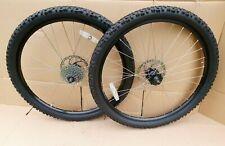 "Jalco double wall 26"" WHEELS QR 9 SPEED Sram Disc - Mountain DH XC BIKE Wheelset"