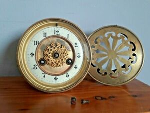 French drumhead clock movement