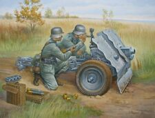 Zvezda 1/72 German 75mm Infantry Gun with Crew # 6156