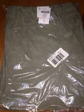 Chicos Cinched Soft Utility Pant Fatigue Green size 3 L 14 16