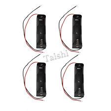 4 Stk. Akku Ladehalter Batteriehalter Gehäuse mit Kabel für 1 x 18650