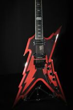 Dean Dimebag Razorbolt RZB Black/Red Guitar Hardshell Case Included