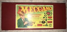 1961 Meccano Outfit Accessory Kit