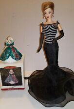 🔥Hallmark Barbie Ornament 1995 PLUS 40th ANNIV BARBIE DOLL (No Box) 🔥P-2 #11dr