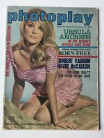 Photoplay Magazine April 1966 SHARON TATE. Audrey Hepburn, Bardot