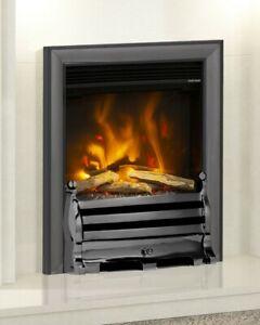 """ELECTRIC INSET FIRE MODERN LED FLAME ELGIN & HALL PRYZM 16"""" DEVOTION HAMPDEN 2kW"""