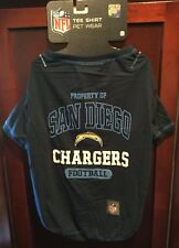Nfl San Diego La Chargers Dog Pet Shirt Size Large Clothes Puppy Sports Jersey