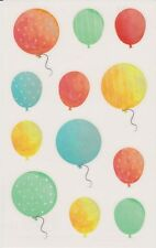 Mrs. Grossman's Giant Stickers - Watercolor Balloons - 2 Strips