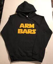 Arm Bars Youth Jiu-Jitsu Hoodie Black Hooded Sweatshirt BJJ Brazilian MMA UFC