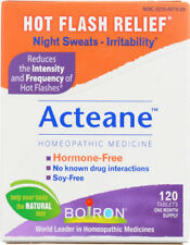 Boiron Acteane Homeopathic Medicine for Hot Flash Relief 120 Tablets