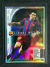 2005-06 Panini WCCF Young Star Lionel Messi Barcelona Refractor card