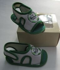 Babys Club Santos De Torreon Shoes, New Green Soccer Sandals 0-6 Months Sz 3