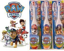 3 Paw Patrol Kids Electric Spinbrush Toothbrush New Lot Toothpaste Disney Toy
