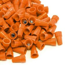 5000 pcs Orange Screw On Wire Electrical Connectors Twist-On Easy Screw Pack