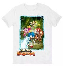 Official SEGA / Nintendo SONIC BOOM (the Hedgehog) T Shirt - Size L Large White