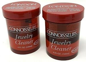Connoisseurs Jewelry Cleaner, Cleaning Solution 2 Jars