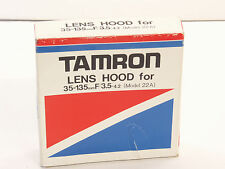 Tamron Lens Hood for 35-135mm f3.5-4.5 Adaptall lens model  22A