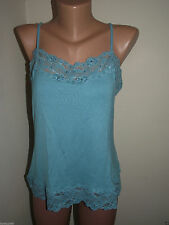 Lace Patternless Stretch Sleeveless Tops & Shirts for Women