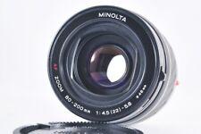 [Exc+3] Minolta AF Zoom 80-200mm 1:4.5 (22) -5.6 (15204657) from Japan