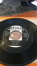 Mary Wells ‎– Two Lovers / Operator 7 Inch Vinyl  Rare ORIOLE 4- CBA 1796