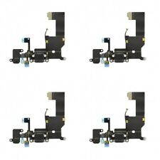 4-PACK OEM Charging Port Charger Dock Mic Flex Cable Antenna For iPhone 5 Black