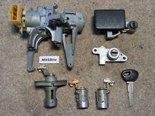 MAZDA MX5 MK1 FULL LOCKSET AND IGNITION & KEY - IMMOBILISED VERSION 1995 - 1998