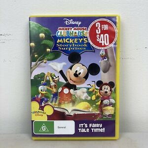 Mickey Mouse Clubhouse DVD PAL Region 4 VGC Free Postage