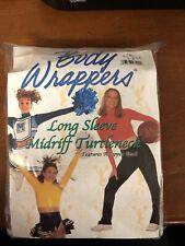 Bodywrappers Turtleneck Bodysuit & Midriff lot (10) - Athletic Gold - See sizes