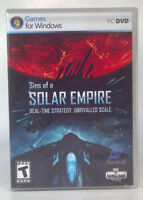 Sins of a Solar Empire (PC, 2008) Games For Windows XP SP2/ Vista