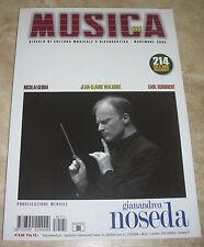 RIVISTA MUSICA N.171 - GIANANDREA NOSEDA - NOVEMBRE 2005 (MU3)