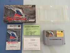 Septentrion Super Famicom SFC Japan VGC