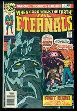 THE ETERNALS COMIC #1, MARVEL COMICS, ORIGIN & 1ST APP ETERNALS, NM- 9.2!
