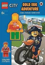 LEGO City: Gold Egg Adventure Activity Book with Minifigure 9780723291251 free p