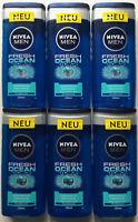 NIVEA MEN Duschgel Fresh Ocean Pflegedusche 6er Pack (6x250ml)