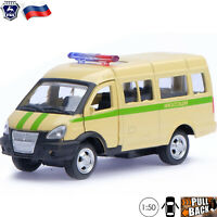 Diecast Vehicles Scale 1:50 Van GAZ 2705 GAZelle Russian Collector Toy Cars