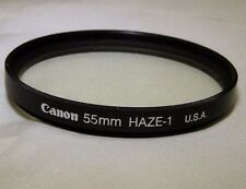 Canon 55mm UV Haze-1 USA Filter Lens Genuine  - Free Shipping Worldwide