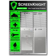 ScreenKnight Sony Xperia XZ1 FULL BODY SCREEN PROTECTOR - Military Shield