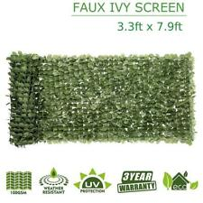 """39"""" x 94"""" Faux Ivy Leaf Decorate Artificial Privacy Fence Panels Outdoor Gate"""