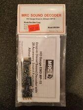 MRC SOUND DECODER HO GAUGE DROP-IN,  ATHEARN MP15 MODEL #0001804 NEW
