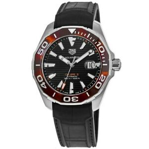 New Tag Heuer Aquaracer 300M Automatic Black Dial Men's Watch WAY201N.FT6177