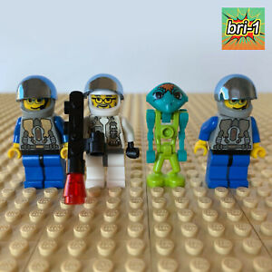 LEGO Space, Life On Mars: 2 Assistants + Doc + Altair 7310, 7315, 7311, MARTIAN