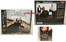 Lady Antebellum Own The Night Taiwan Ltd CD w/OBI (Need You Now Acoustic)