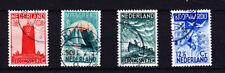 Nederland 257-260 zeemanszegel1933 mooi gestempeld/USED