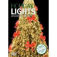 HOLIDAY LIGHTS: VIRTUAL CHRISTMAS DISPLAYS DVD w/ MUSIC - FILMED IN HD 5.1 (NEW)