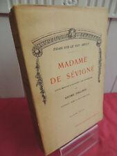 MADAME DE SEVIGNE André Hallays 7 gravures