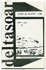 """1972 Hang Gliding Magazine: """"LOW & SLOW"""" - Issue # 16"""
