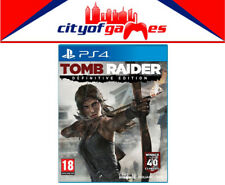 Tomb Raider Definitive Edition PS4  Brand New & Sealed In Stock