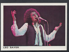 Panini 1980 Rock & Pop Collection - Sticker No 19 - Leo Sayer (S252)